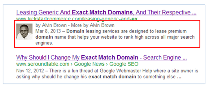 practical search engine optimization tip #4: add an image next to your search engine results.