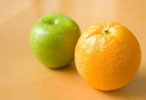 Search and Content pay-per-click advertising are as different as apples and oranges.